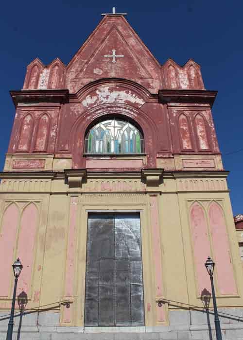Chiesa di Santa Maria delle Grazie Montechiaro - Chiesa Rossa