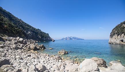 Spiaggia Cala di Mitigliano